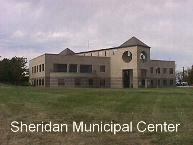 Picture of the Sheridan Municipal Center at 4101 S. Federal Blvd.