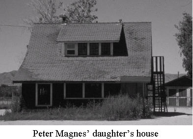 Peter Magnes' daughter's house