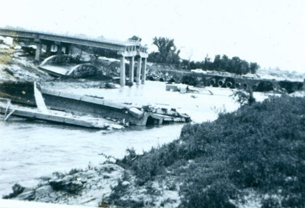 US 285 Bridge after 1965 Platte River Flood